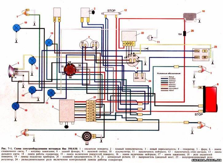 Схема проводки и