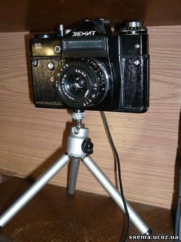 Как сделать из фотоаппарата веб