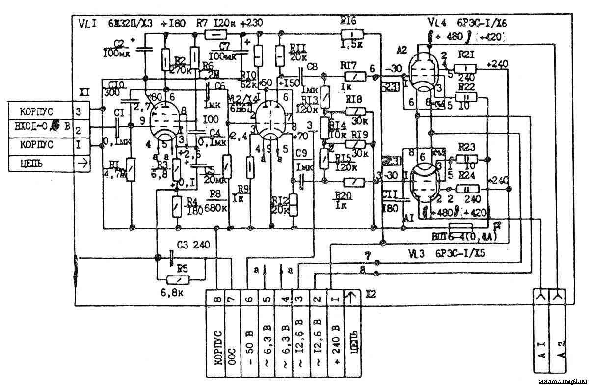 ламповый усилитель маршал схема - jackkmaslobul1972's diary