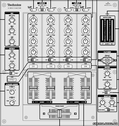 Сервис-мануал + схема блоков