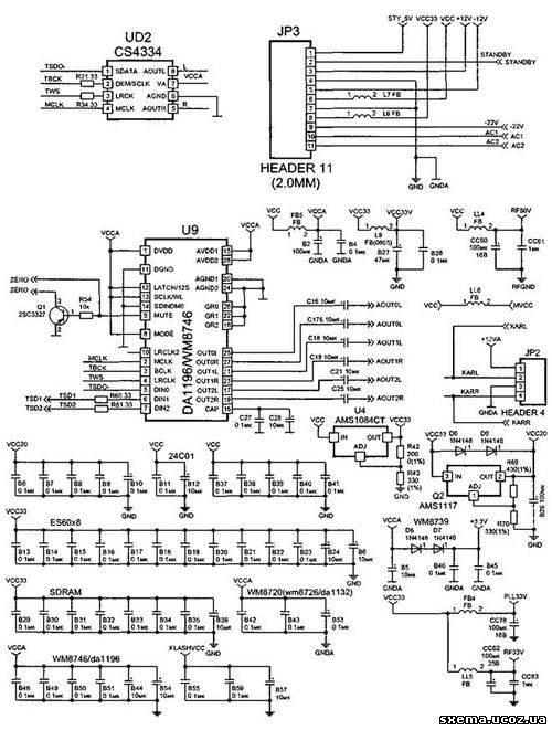 Рис. 7. Звуковой процессор.